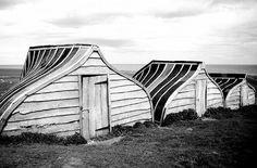 Boatsheds. Northumberland