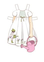 """Free Download: """"Lily Dress"""" Dress Up Belle Doll Outfit. Belle & Boo"""