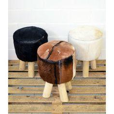 Goat fur stools  http://www.rentodesign.fi/koti_sisustus/huonekalut/vuohenkarvajakkara-ruskea