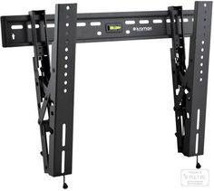 Kromax VEGA-9 серый  — 2290 руб. —  Кронштейн Vega-9 уникальный ультратонкий кронштейн с возможностью наклона экрана. Идеально подходит для всех современных LED/LCD телевизоров с диагональю экрана от 32 до 65 дюймов (81-165 см). Изготовлен из высококачественной стали, надежно выдерживает нагрузку до 45 кг. В конструкции кронштейна предусмотрен встроенный водяной уровень.   Благодаря инновационной системе крепления TechLock телевизор надежно фиксируется на кронштейне. А монтаж и демонтаж…