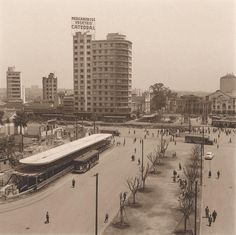 Praça João Mendes, s/d. Hagop G. São Paulo do Passado