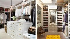 Our closet is that it's shallow, has poor light and doesn't make the best use of space. I found some of the most amazing walk in closets I've ever seen. *** undefined #HomeDecoration