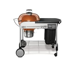 Weber 15502001 Performer Deluxe Charcoal Grill, 22-Inch, Copper, 2015 Amazon Top Rated Freestanding Grills #Lawn&Patio