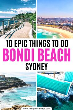You know that Bondi is way more than just a beach, right? This amazing suburb of Sydney is one of the coolest places to hang out in Australia, so check out this post to find all the best things… More Beautiful Places To Travel, Best Places To Travel, Cool Places To Visit, Perth, Sydney Australia Travel, Travel Inspiration, Travel Ideas, Travel Tips, Melbourne