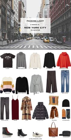 If you are spending Christmas in New York City, and you have no idea what to pack you are in the right place. I love winter and I love finding ways to still be fashionable while it is freezing out. Source by kaitlinskawinsk outfits cold freezing new york New York Outfits, City Outfits, Fall Outfits, Capsule Wardrobe Winter, Travel Wardrobe, Fall Wardrobe, Fall Packing List, Winter Packing, New York Noel