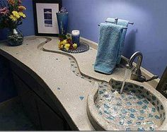 Beautiful sink design!