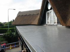 A gallery of flat roofing images from a variety of projects carried out by Changing Roofs, using Polyroof Materials and qualified contractors from across the UK Rear Extension, Roof Repair, House Extensions, Flat Roof, Storage Ideas, Gallery, Outdoor Decor, Home Decor, Decoration Home
