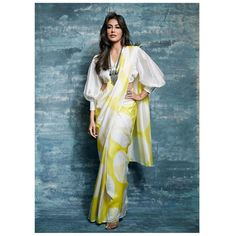 5 Blouse Styles Which Are Worth Having In Your Wardrobe – Fashion in India – Threads Modern blouses are experimental and also look chic. Discover These Latest Fashion Blouse Styles Which Are Worth Having In Your Wardrobe At Threads. Indian Blouse Designs, Saree Blouse Neck Designs, Saree Blouse Patterns, Fancy Blouse Designs, Designer Blouse Patterns, Dress Designs, Trendy Sarees, Stylish Sarees, Blouses For Sarees