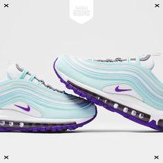 nike air max blauw paars