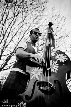 Brendan & double bass 4 by willgrahamphotography.co.uk, via Flickr