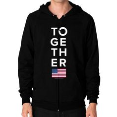 Together 2016 Zip Hoodie (on man) Shirt
