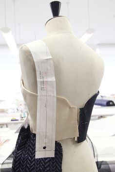 Inside the Fashion Atelier - dressmaking studio; draping; moulage; fashion design behind the scenes // Delpozo