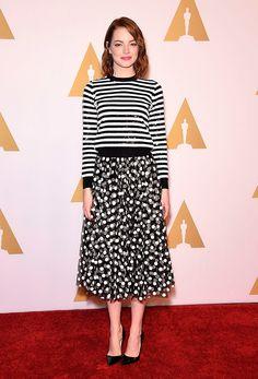 Emma Stone Wearing Michael Kors