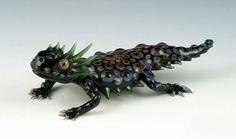 Stworzył je Scott Bisson, który uformował te podwodne stworzenia, korzystając jedynie z własnego podmuchu i specjalistycznej aparatury. Wow!