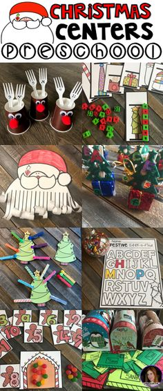 Are you looking for fun and simple thematic centers that you can prep quickly for your preschool classroom? Preschool December Centers was created for children ages 4-6.