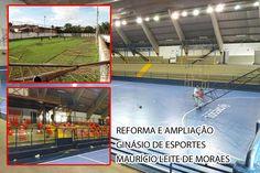 """Começa a reforma do Ginásio de Esportes """"Maurício Leite de Moraes"""""""