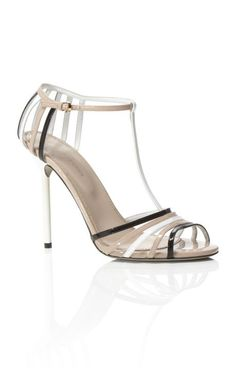 Tri Tone T Strap Mirage Sandal THE SHOE |2013 Fashion High Heels|
