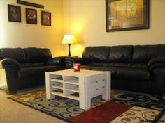 Pallet tavolino ~ Arredare casa con i bancali tavolino da salotto con bancali