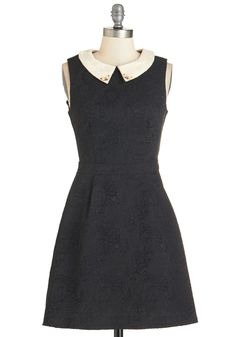 Garden Fresh Glam Dress. A conservatory fte calls for this black dress by Yumi! #black #modcloth