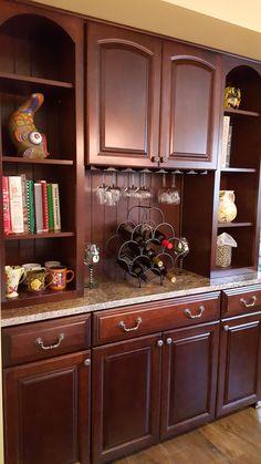 Kraftmaid Mushroom Cabinets And Large Crown Molding