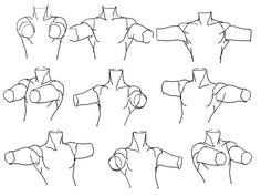 Sloppy, But looks really helpful for learning hOW TO CONSTRUCT WHERE THE SHOULDERS GO.