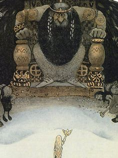 I Have the Crown by John Bauer