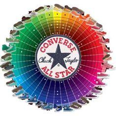 Converse all star color wheel
