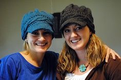 A Little Knitting: Brim Hat Pattern