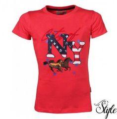 751f3f1d50 RED HORSE gyerek póló Print. Style Lovas Webáruház