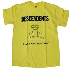 DESCENDENTS I DONT WANT TO GROW UP T-SHIRT