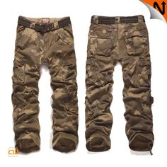 Men's Casual Rothco Designer Cargo Garment Washed Pants