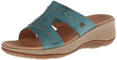 ACRON Womens Vista Slide Wedge SandalSea9 M US >>> Check out the image by visiting the link.
