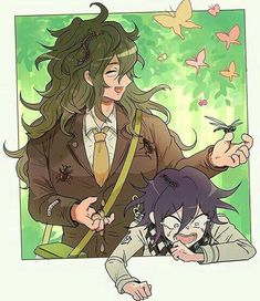 Gonta Gokuhara and Oma Kokichi // New DanganRonpa V3 Killing Harmony