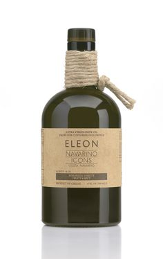 Navarino Icons Estate Extra Virgin Olive Oil- %00ml Glass Bottle Made from Koroneiki variety olives, grown in the seaside groves of Costa Navarino. Carefully gathered by hand, these olives maintain their nutritional characteristics, and a low olive oil acidity (less than 0.35%).