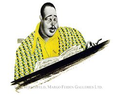 Al Hirschfeld / Duke Ellington (1946)