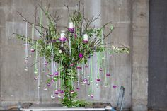 British Flowers Week celebrates British-grown cut flowers, as used by five of   our most creative florists. Here are some of this year's stunning designs.