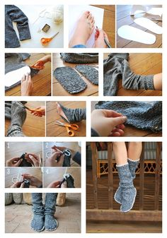 10 Adorable DIY Slippers That Will Give You The Warm Fuzzies