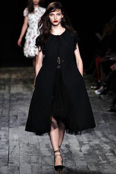 Nina Ricci RTW A/W 2012/13.  Model - Karlina Caune.