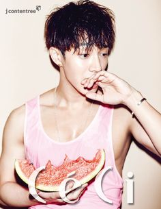 Gi Kwang - Ceci Magazine June Issue '15