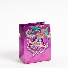 Jacobean Floral Small Gift Bag
