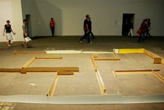 'ruin' by carlos bunga at art unlimited / art basel 2008 - designboom