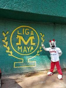 Ciudad de México a 17 de julio. - Este lunes los Diablos Rojos visitaron la Liga Pequeña de Beisbol Maya A.C., dando el banderazo al curso...