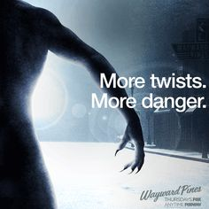 You know a few of Wayward Pines' secrets, but soon you'll discover even more. Post Apocalyptic Fiction, Fantasy Tv Shows, How To Apologize, For Your Eyes Only, Twin Peaks, Weird And Wonderful, Best Shows Ever, Favorite Tv Shows, Movies And Tv Shows