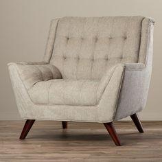 Evanston Tufted Arm Chair & Reviews | Joss & Main