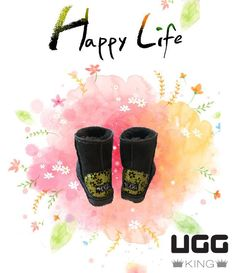 Be happy at any moment in this short life. Classic Ugg Boots, Ugg Classic, Uggs, In This Moment, Happy, Life, Ser Feliz, Ugg Boots, Being Happy