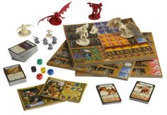 Looking for a board game to take the edge off your dungeon delving habit? Descent: Journeys in the Dark looks like a great way to do just that and Thorynn @ Skyland Games has a review for you...