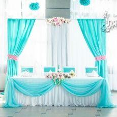 Tablecloth setup only Wedding Stage, Blue Wedding, Diy Wedding, Wedding Reception, Dream Wedding, Arch Wedding, Wedding Mandap, Birthday Decorations, Wedding Decorations