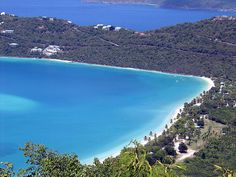 Magens Bay is St. Thomas's most popular beach, this beautiful one-mile stretch is a public park and was donated to the people of the Virgin Islands by Arthur Fairchild. The water is usually very calm in this heart-shaped protected bay.