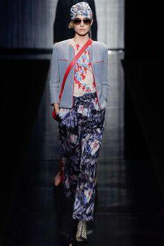 Giorgio Armani Spring 2017 Ready-to-Wear Fashion Show - Alicia van Schouten