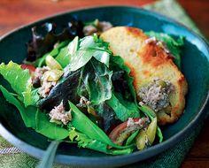 Salada de atum com azeitonas